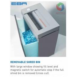 Penghancur Kertas (Paper Shredder) EBA 1128 Cross cut